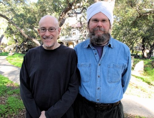 Shinzen Young & Har-Prakash Khalsa, Jan. 2009, Santa Barbara