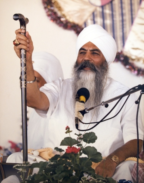 Yogi Bhajan, Summer Solstice, New Mexico.